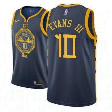 Golden State Warriors #10 Jacob Evans III City Jersey