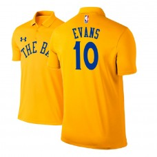 Golden State Warriors #10 Jacob Evans Gold City Polo