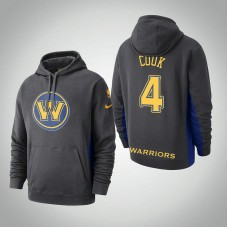 Golden State Warriors #4 Quinn Cook Earned Hoodie