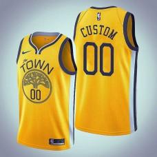 Golden State Warriors #00 Custom Earned Jersey