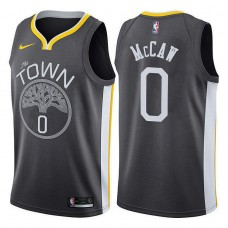Golden State Warriors #0 Patrick McCaw Gray Statement Jersey