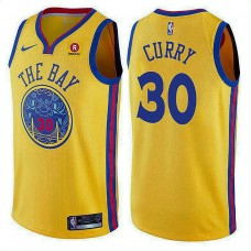 Golden State Warriors #30 Stephen Curry City Jersey
