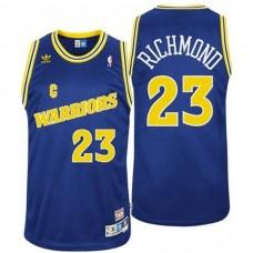 Golden State Warriors #23 Mitch Richmond Hardwood Classics Jersey