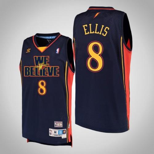 Golden State Warriors #8 Monta Ellis Navy We Believe Jersey