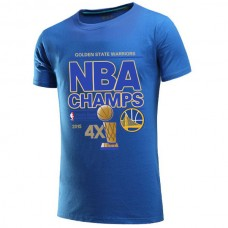 2015 Finals Champion Golden State Warriors Blue T-Shirt