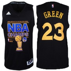Golden State Warriors #23 Draymond Green Black Champions Jersey