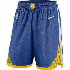 Golden State Warriors Blue Icon Swingman Basketball Shorts
