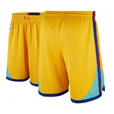 Golden State Warriors Gold City Edition Shorts
