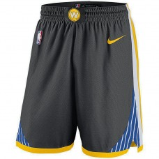 Golden State Warriors Gray Statement Swingman Basketball Shorts