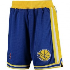 Golden State Warriors Royal Authentic Shorts