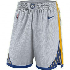 Golden State Warriors White Association Swingman Performance Shorts