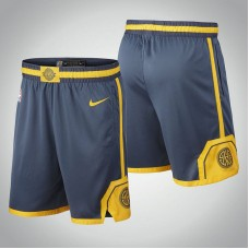 Golden State Warriors Charcoal 2018 City Edition Shorts