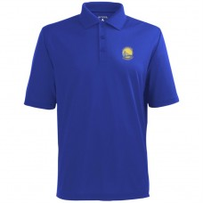 Antigua Golden State Warriors Royal Pique Xtra-Lite Performance Polo