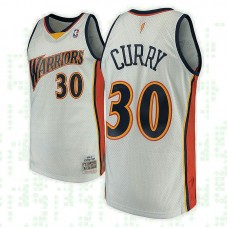 Stephen Curry Golden State Warriors #30 2009-10 Hardwood Classics White Swingman Jersey