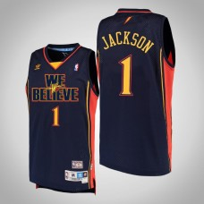 Golden State Warriors #1 Stephen Jackson We Believe Jersey