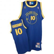 Golden State Warriors #10 Tim Hardaway Hardwood Classics Jersey