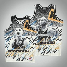 Tim Hardaway Golden State Warriors #10 All-Star Fashion Gray Sublimated Jersey