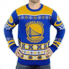 Golden State Warriors Klew Royal Thematic Unisex Ugly Sweater