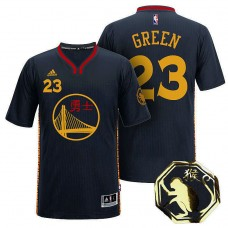 Golden State Warriors #23 Draymond Green Black Chinese New Year Jersey