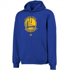 Golden State Warriors Big Logo Royal Pullover Hoodie