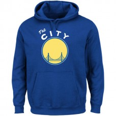 Golden State Warriors The City Royal Pullover Hoodie
