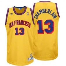 Golden State Warriors #13 Wilt Chamberlain Hardwood Classics Jersey