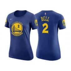 Women's Golden State Warriors #2 Jordan Bell Icon T-Shirt