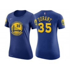 Women's Golden State Warriors #35 Kevin Durant Icon T-Shirt
