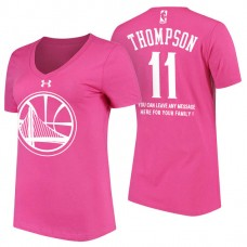 Women's Golden State Warriors #11 Klay Thompson Mother's Day T-Shirt