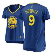 Women's Andre Iguodala Golden State Warriors Icon Edition Royal Replica Jersey