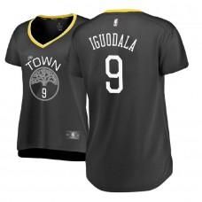 Women's Andre Iguodala Golden State Warriors Statement Edition Gray Replica Jersey