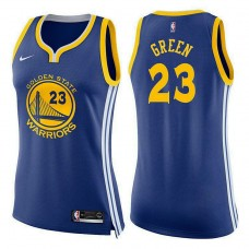 Women's Draymond Green Golden State Warriors Icon Blue Swingman Jersey