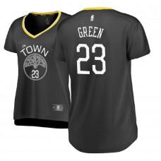 Women's Golden State Warriors #23 Draymond Green Statement Jersey