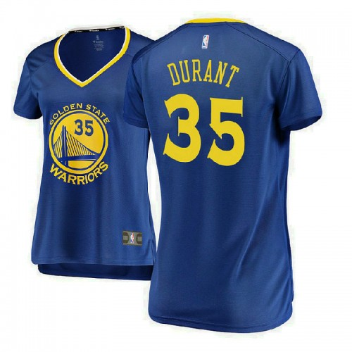 Women's Golden State Warriors #35 Kevin Durant Icon Jersey