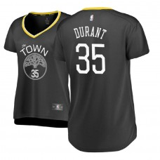 Women's Golden State Warriors #35 Kevin Durant Statement Jersey