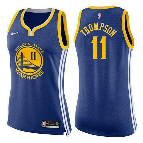 Women's Golden State Warriors #11 Klay Thompson Icon Jersey