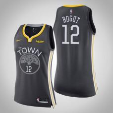 Women's Golden State Warriors #12 Andrew Bogut Statement Jersey