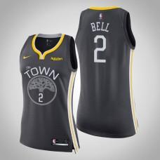 Women's Golden State Warriors #2 Jordan Bell Statement Jersey