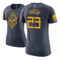 Women's Golden State Warriors #23 Draymond Green City T-Shirt