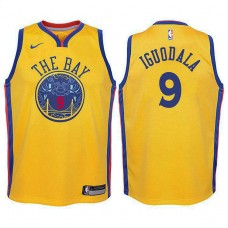 Youth Golden State Warriors #9 Andre Iguodala City Jersey