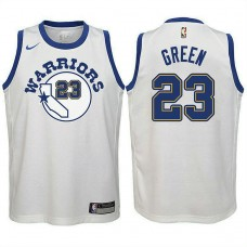 Youth Golden State Warriors #23 Draymond Green Hardwood Classics Jersey