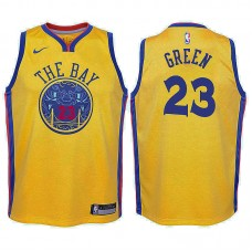 Youth Draymond Green Golden State Warriors City Edition Gold Swingman Jersey