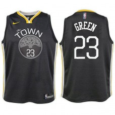 Youth Golden State Warriors #23 Draymond Green Statement Jersey