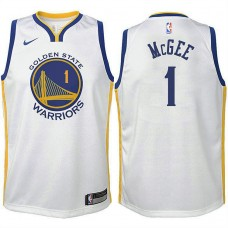 Youth Golden State Warriors #1 JaVale McGee Association Jersey