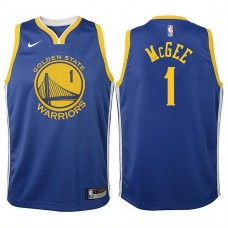 Youth JaVale McGee Golden State Warriors Icon Royal Swingman Jersey
