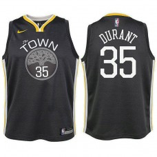 Youth Kevin Durant Golden State Warriors Statement Gray Swingman Jersey