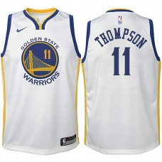 Youth Klay Thompson Golden State Warriors Association White Swingman Jersey