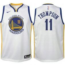 Youth Klay Thompson Golden State Warriors Association White Swingman Jersey
