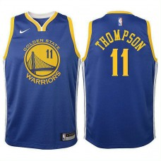 Youth Golden State Warriors #11 Klay Thompson Royal Icon Jersey