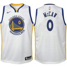 Youth Golden State Warriors #0 Patrick McCaw White Association Jersey
